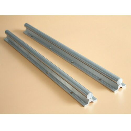 2Pcs Linear Rail CNC Part SBR20 20mm L200mm-1500mm Fully Supported Shaft Rod