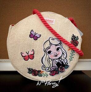 2020 Cute Disney BRIAR ROSE Animators Toddler Aurora Sleeping Beauty Swim Bag