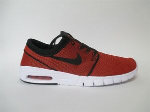 Nike SB Stefan Janoski Max Black Max Orange (Almost Red) Sz 10.5 ... a81a312c2498