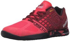 reebok crossfit nano 5.0 damen sneaker burgundpink größe uk