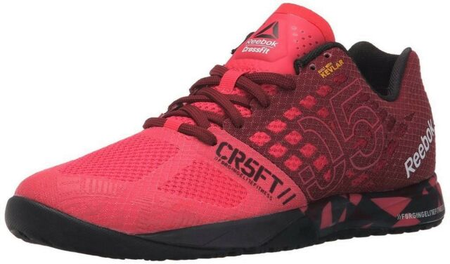 647e92f3a3a1 Reebok Crossfit Nano 5.0 Women Trainers in Merlot Red   Pink V72420 ...