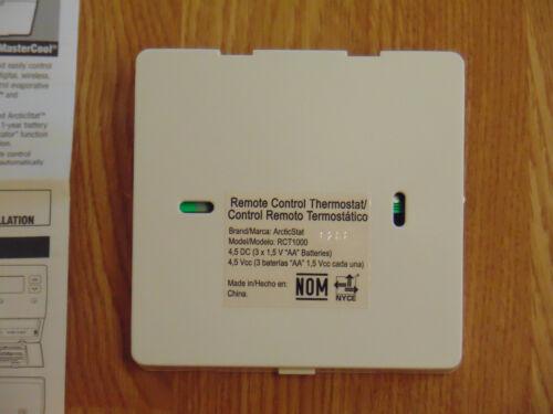 HVAC MasterCool Arctic Stat RCT1000 Remote Control Evaporative ...