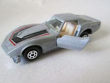 1979 Road Champs Yatming Chevrolet Corvette Stingray Sports Car #1065 HK (Minty)