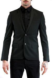 jc32kii Slim Giacca Gessato 65 Black Ros Asola Nero Sconto Imperial Art Uomo taIwxwpq