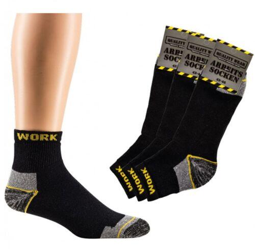Arbeit kurz socken Sneaker Socken Komfortbund Arbeitssocken /'/' 6 Paar /'/' CH 6842
