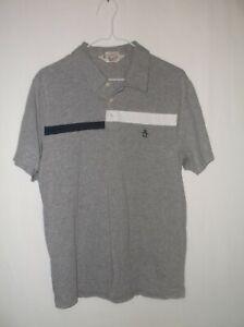 Penguin-Men-039-s-Polo-Shirt-Classic-Fit-Cotton-Size-M