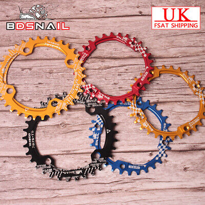 UK SNAIL 6Colors 104BCD 30-42t Round//Oval Cycling MTB Bike Chainset Chainring