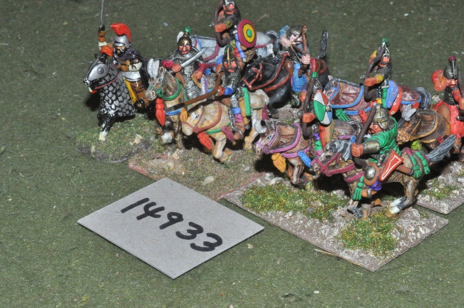 25mm medieval   turkish - seljuk cavalry 9 cavalry - cav (14933)