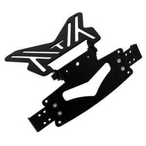 Bike-It-Motorcycle-Small-Number-Plate-Hanger-Bracket-Adjustable-Indicator-Mounts
