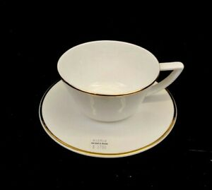 Olivia & Oliver Fine Bone China, Madison Cup & Saucer Gold, New Never Used