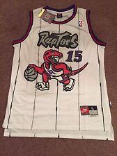 Mens Large Vintage Vince Carter Toronto Raptors NBA Basketball Throwback Jersey
