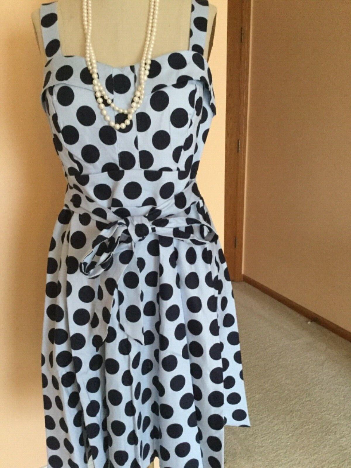 Damen Kleid, XL,, Blau, Gepunktet, Lafayette148, Neu mit Etiketten