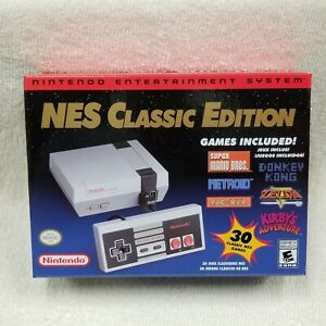 Nintendo-NES-Classic-Edition-Mini-System-30-Classic-Games-BRAND-NEW-amp-AUTHENTIC