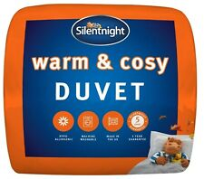 Silentnight Winter Warm and Cosy Bed Duvet Single Double King Super 15 Tog Soft