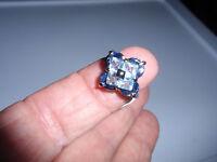 Park Lane Jewelry, narina Ring, S-5 1/4, Topaz & Blue Sapphires, Retired,