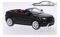 #0475R - Premium X Range Rover Evoque Convertible - schwarz - RHD - 2012 - 1:43