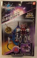 Beetleborgs Metallix Astral Borgs Fireborg With Fire Blasting Action Bandai