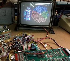 Tron Arcade Circuit Board, PCB, Working Boardset, 1982, Bally Midway, New Cables