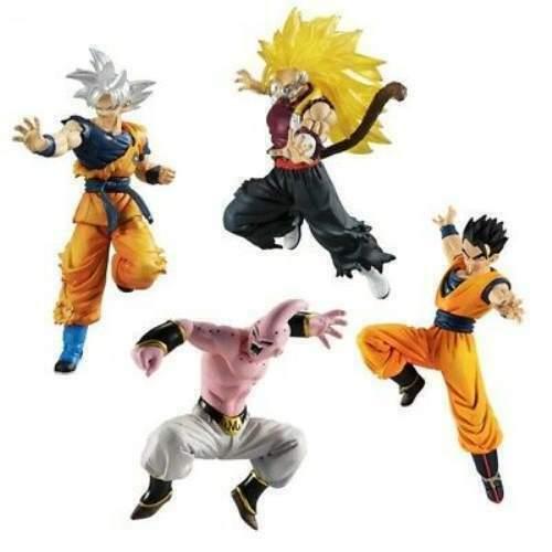 Bandai Dragon Ball Z Súper vs Series 12 Conjunto de 4 Completo Japón Oficial