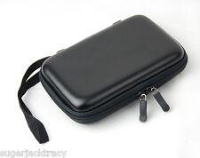 Black EVA Case for External Portable Hard Drive Suitable for Toshiba Buffalo