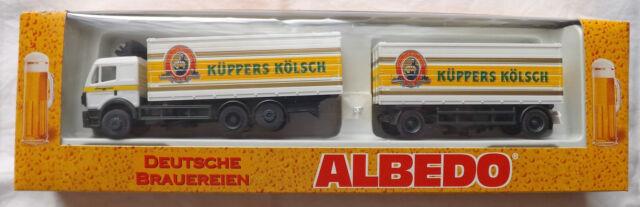 1/87 MERCEDES BENZ SK KÜPPERS KÖLSCH 800042 ALBEDO 200368 rimorchio conf. orig.