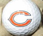 (3-Ball Gift Pack) (Chicago Bears NFL Logo) Titleist Pro V1 Mint Golf Balls!