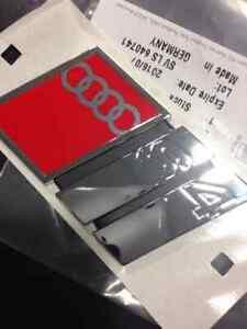 Logo AUDI S3 8LCOFFRE A3 Last Copy Original Make Offers 270.5oz78537372ZZ
