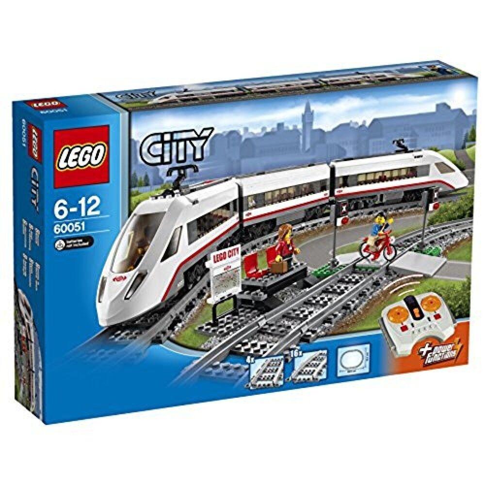 Alta velocaidad pasajiro tren 60051 de Jap - n nuevo EMS, lego.