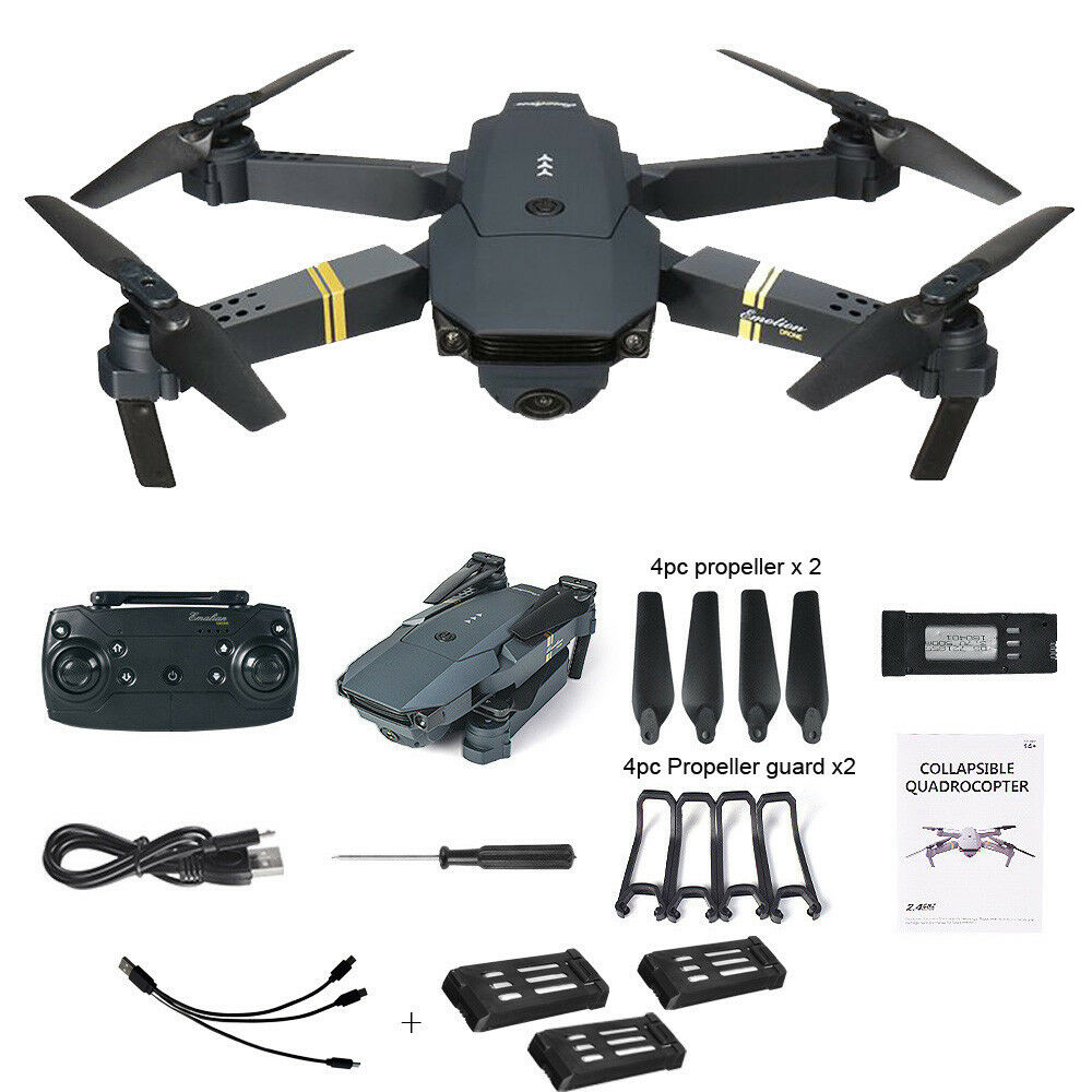 Emotion Drone Mavic Pro-Camera 720 Full HD - 360 - Brand Nuovo  3x batteries