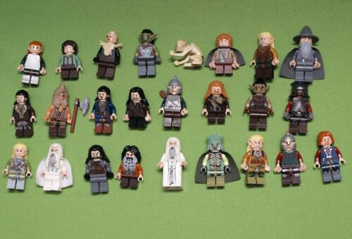 Lego Herr der Ringe Hobbit Figuren zum Auswählen 9470 9473 9474 9476 79005 79001