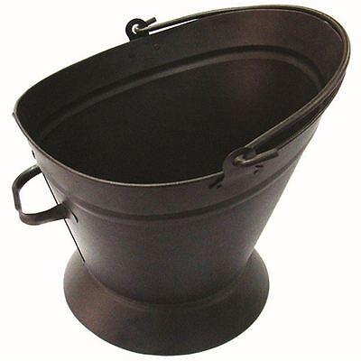 Waterloo Bucket Fireside Coal Scuttle Hod Heavy Duty Handle New By Home Discount