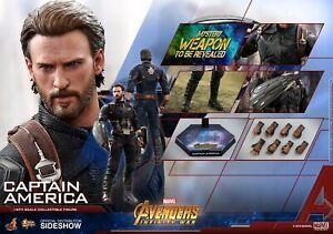 Marvel: Avengers Infinity War - Captain America 1/6 Action 12   Marvel : Avengers Infinity War – Captain America 1/6 Action 12″ Hot Toys