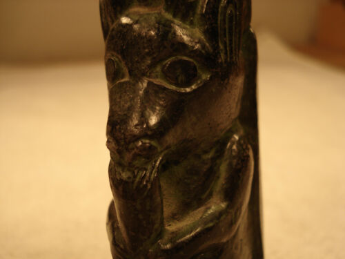 Miniature Totem-like North American Indian Hand Carving from Canada