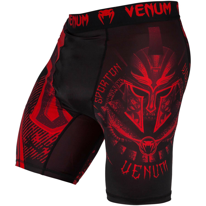 fd2f2b78c7 Details about Venum MMA Gladiator Vale Tudo Fight Shorts Red Compression  BJJ UFC Jiu Jitsu