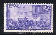 ITALIA REPUBBLICA 1948 SERIE RISORGIMENTO 35 LIRE ESPRESSO NUOVO