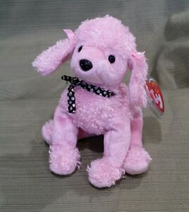 b8897f3674a Ty Beanie Baby Brigitte the Pink Poodle Dog 2001 Retired NEW