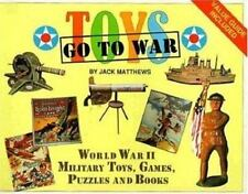 Toys Go To War by Jack Matthews - World War Two toys games puzzles books