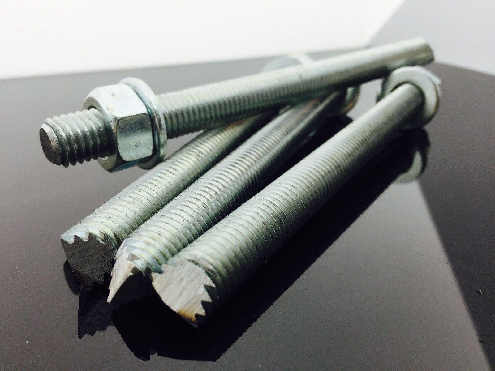 Chemical Anchor Studs  - Zinc  - M8, M10, M12, M16, M20