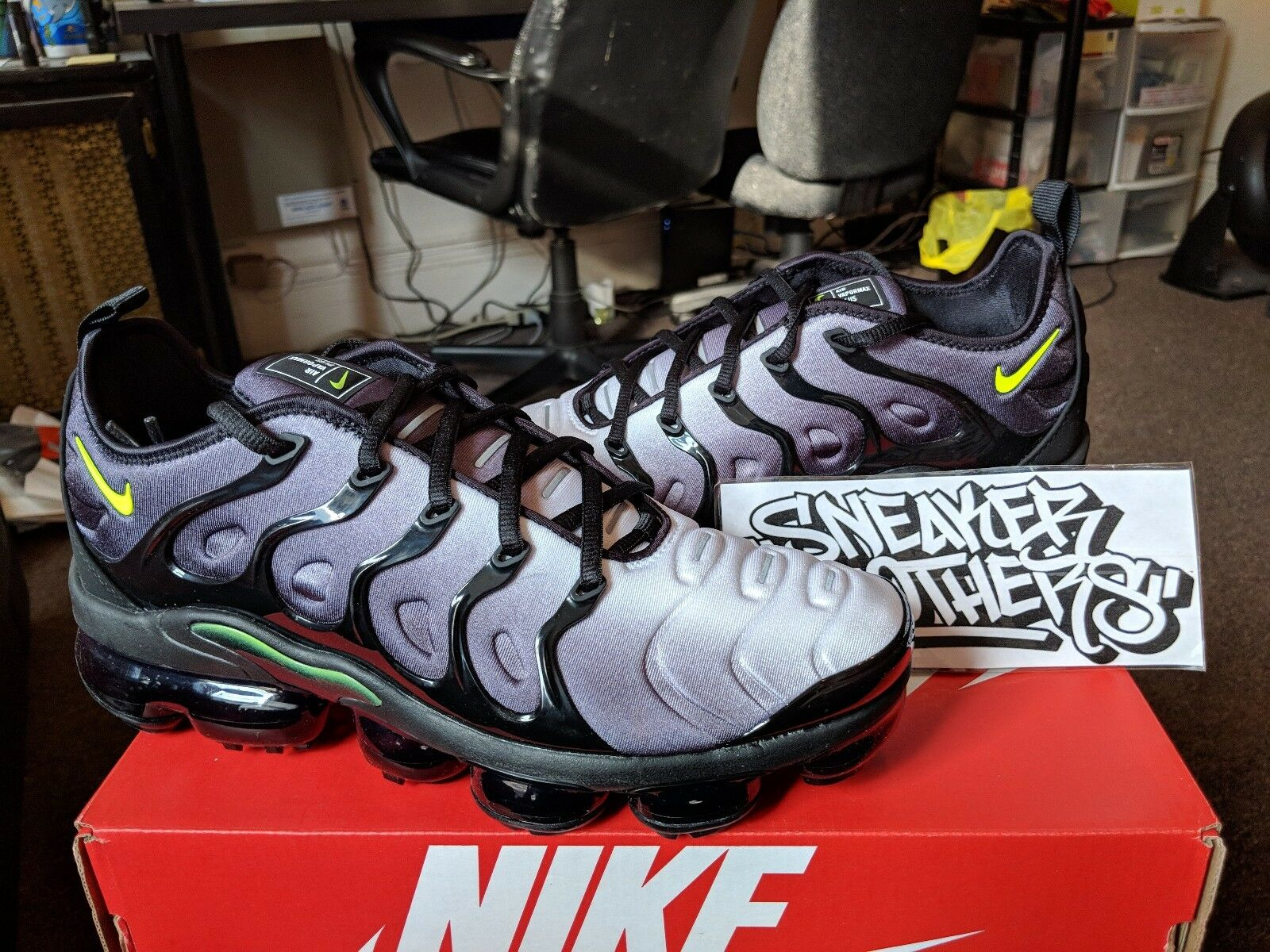buy online 70d00 7401d ... discount code for nike air blanco vapormax plus negro volt blanco air  neon 95 gris zapatillas