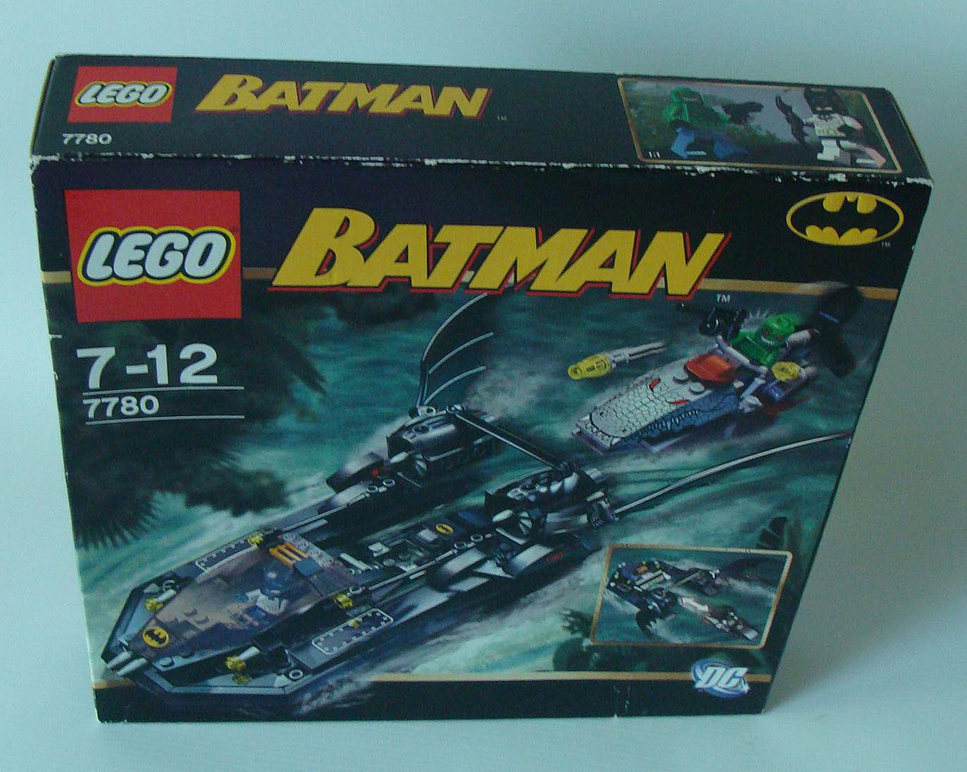 LEGO ® 7780 Batman batboat-Caccia della killer CROCO 7-12 anni 188 PEZZI-NUOVO