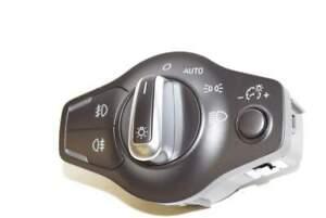 Audi-Q5-8R-08-12-Switch-light-switch-NSW-NSL-black-chrome-Auto-Xenon-original