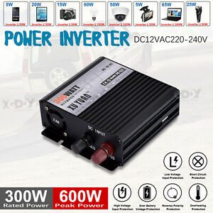 Spannungswandler-Inverter-12V-auf-230V-300-Watt-Wechselrichter-Reiner-Sinus-USB