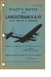 Details about PILOT'S NOTES: AVRO LANCASTRIAN TROOP CARRIER + ADDED VALUE  INFO PACK/ DOWNLOAD