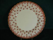 Spode Fleur de Lys Red Bone China Y7481 Dinner Plate(s)