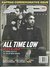 AP Alternative Press 337.1 August 2016 All Time Low APMAS Commemorative Issue !!
