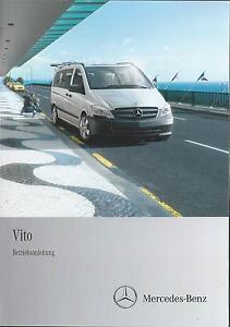 MERCEDES-VITO-639-Betriebsanleitung-2013-Bedienungsanleitung-Handbuch-BA