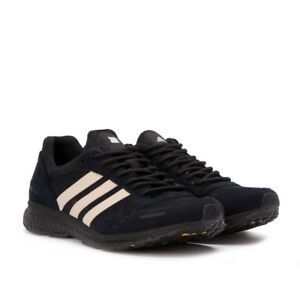 new product 9b240 de603 Image is loading Mens-Adidas-AdiZero-Adios-3-UNDEFEATED-Black-B22483-