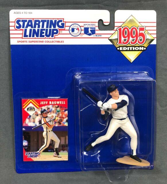 JEFF BAGWELL Houston Astros Starting Lineup SLU 1995 Figure & Card NIP