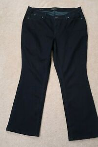 Womens-Jeans-size-14-WP-Talbots-Woman-Petites-Boot-Cut-stretch