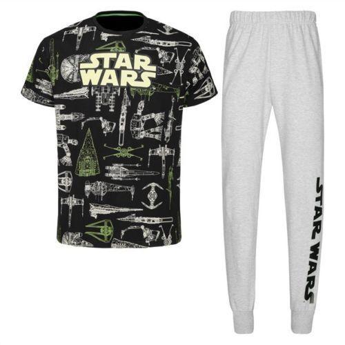New /& Sealed RRP £30 Avon Star Wars Glow In The Dark Pyjamas